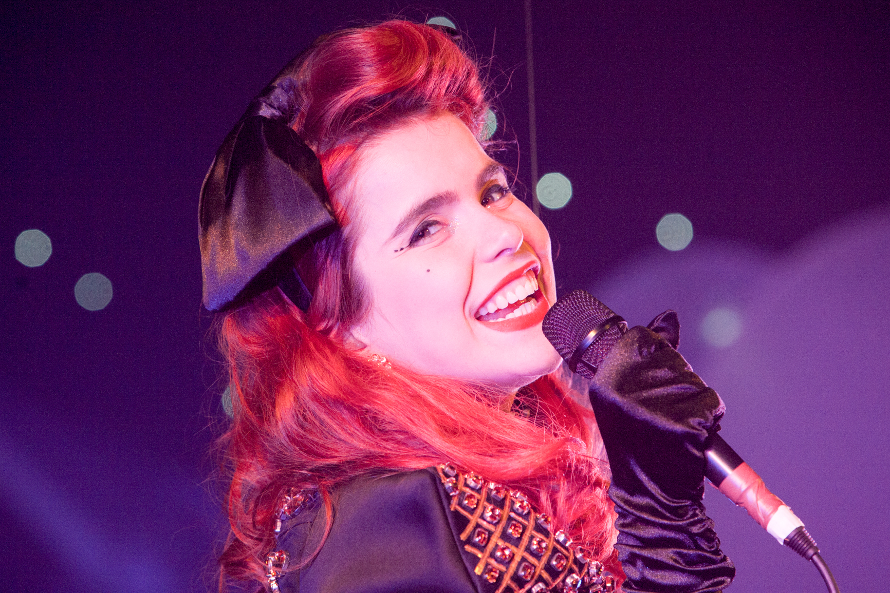 Paloma faith photographed in concert