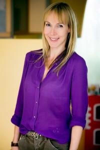 Business lady purple dragon publicity shot